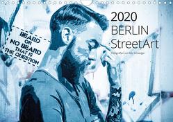 Berlin StreetArt 2020 (Wandkalender 2020 DIN A4 quer) von Schweiger,  Mio