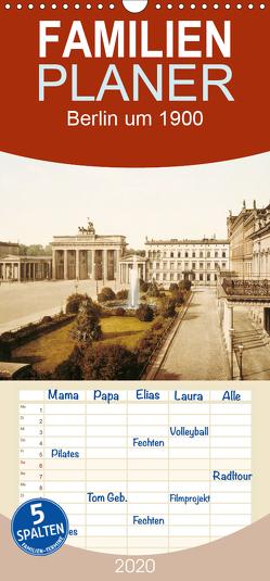 Berlin um 1900 – Familienplaner hoch (Wandkalender 2020 , 21 cm x 45 cm, hoch) von akg-images