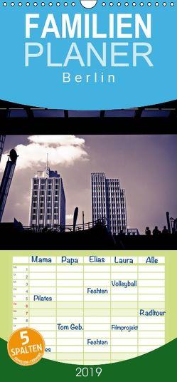 Berlin-Underground – Familienplaner hoch (Wandkalender 2019 , 21 cm x 45 cm, hoch) von Bücker,  Michael