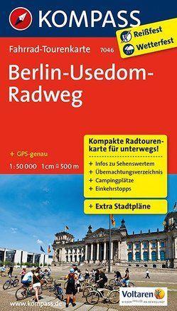 Berlin-Usedom-Radweg von KOMPASS-Karten GmbH