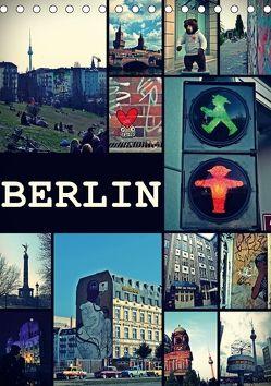 BERLIN / vertikal (Tischkalender 2018 DIN A5 hoch) von Büttner,  Stephanie