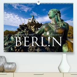 Berlin – Weltstadt mit Herz (Premium, hochwertiger DIN A2 Wandkalender 2021, Kunstdruck in Hochglanz) von Bruhn,  Olaf