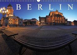 Berlin zur blauen Stunde (Wandkalender 2018 DIN A3 quer) von Herrmann,  Frank