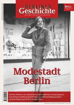 Berliner Geschichte – Zeitschrift für Geschichte und Kultur von Verein für die Geschichte Berlins e. V.,  gegr. 186