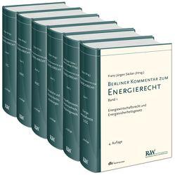 Berliner Kommentar zum Energierecht, 6 Bände von Säcker,  Franz-Jürgen