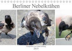 Berliner Nebelkrähen (Tischkalender 2019 DIN A5 quer) von Schilling,  Linda