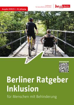 Berliner Ratgeber Inklusion für Menschen mit Behinderungen 2020/21