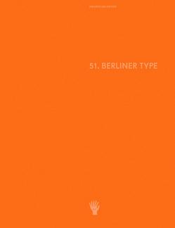 Berliner Type Award