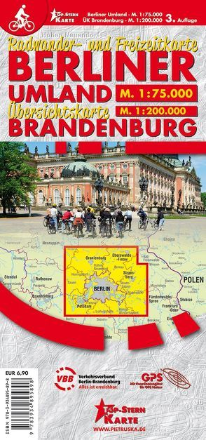 Berliner Umland und Uebersichtskarte Brandenburg