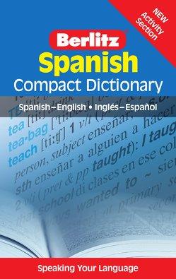 Berlitz Compact Dictionary Spanish von Langenscheidt,  Redaktion