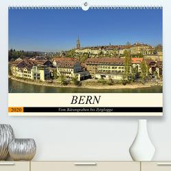 BERN – Vom Bärengraben bis Zytglogge (Premium, hochwertiger DIN A2 Wandkalender 2020, Kunstdruck in Hochglanz) von Michel,  Susan