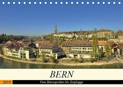 BERN – Vom Bärengraben bis Zytglogge (Tischkalender 2019 DIN A5 quer) von Michel,  Susan