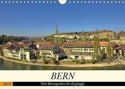 BERN – Vom Bärengraben bis Zytglogge (Wandkalender 2019 DIN A4 quer) von Michel,  Susan