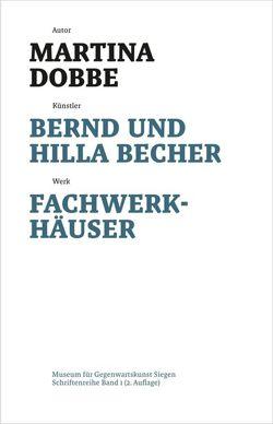 Bernd und Hilla Becher von Dobbe,  Martina