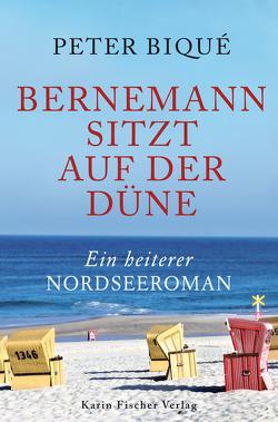 Bernemann sitzt auf der Düne von Biqué,  Peter