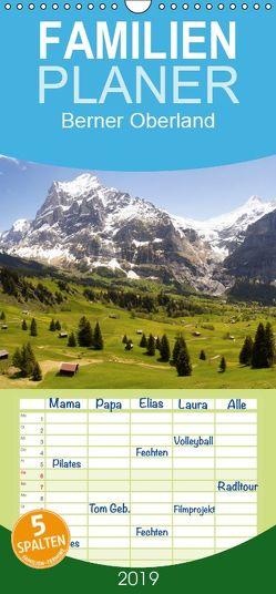 Berner Oberland – Familienplaner hoch (Wandkalender 2019 , 21 cm x 45 cm, hoch) von Kulla,  Alexander