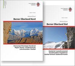 Berner Oberland Kombipaket Klettern: Band 1 Berner Oberland Nord / Band 2 Berner Oberland Süd von Gerber,  Martin