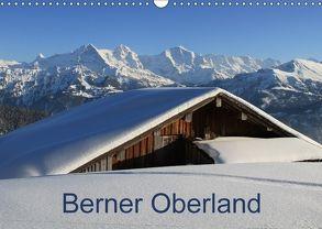 Berner Oberland (Wandkalender 2018 DIN A3 quer) von André-Huber / www.swissmountainview.ch,  Franziska