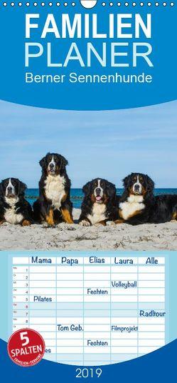 Berner Sennenhund 2019 – Familienplaner hoch (Wandkalender 2019 , 21 cm x 45 cm, hoch) von Starick,  Sigrid