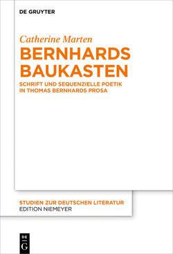Bernhards Baukasten von Marten,  Catherine