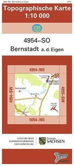 Bernstadt a. d. Eigen (4954-SO)