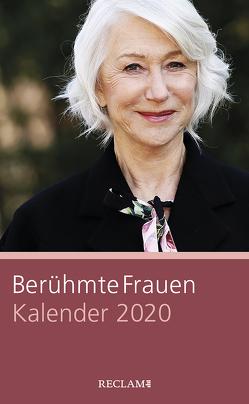 Berühmte Frauen. Kalender 2020 von Pusch,  Luise F