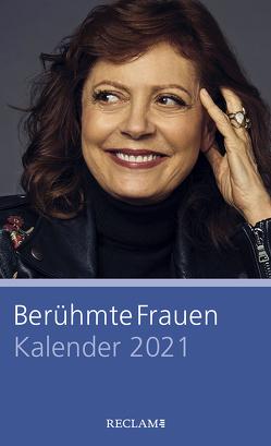 Berühmte Frauen. Kalender 2021 von Pusch,  Luise F