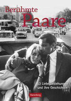 Berühmte Paare – Kalender 2019 von Harenberg, Nadolny,  Susanne