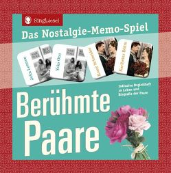 Berühmte Paare – Das Memo-Spiel für Erwachsene. von Verlag,  SingLiesel