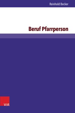 Beruf Pfarrperson von Becker,  Reinhold