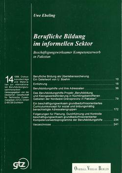 Berufliche Bildung im informellen Sektor von Boehm,  Ullrich, Ebeling,  Uwe, Gold,  Ewald, Schröter,  Hans G.