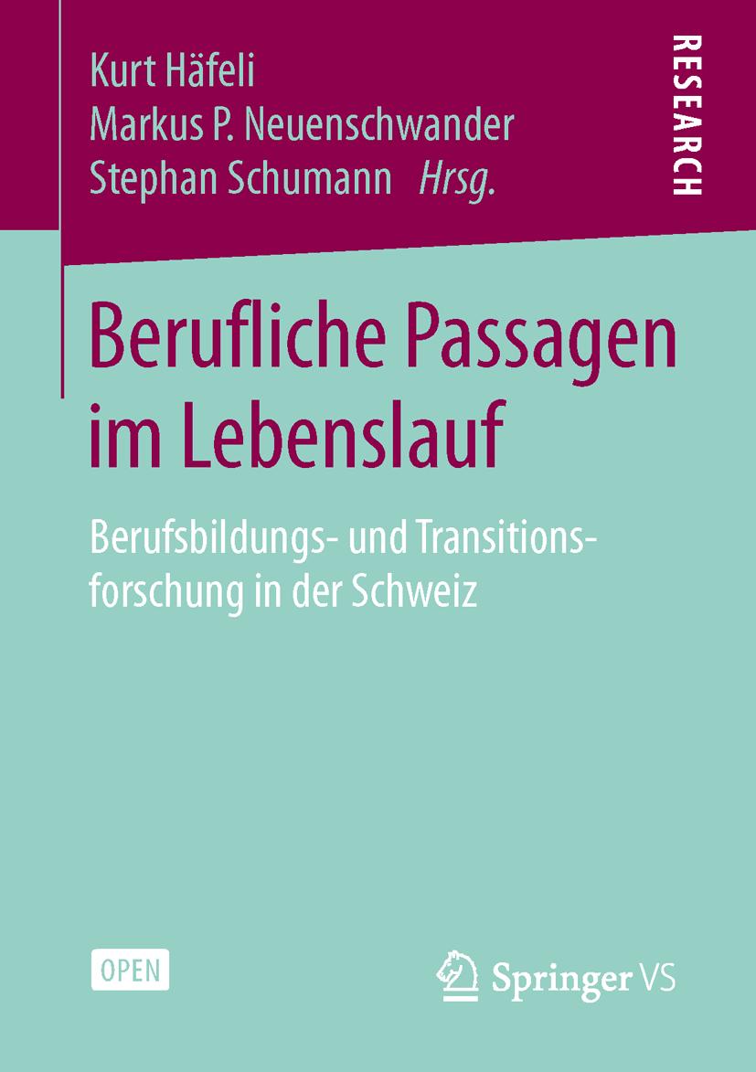 Berufliche Passagen im Lebenslauf von Haefeli, Kurt, Neuenschwander, M
