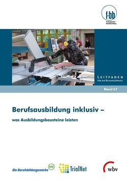 Berufsausbildung inklusiv – was Ausbildungsbausteine leisten von Goth,  Günther G., Severing,  Eckart