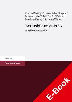 Berufsbildungs-PISA von Achtenhagen,  Frank, Arends,  Lena, Babic,  Edvin, Baethge,  Martin, Baethge-Kinsky,  Volker, Weber,  Susanne