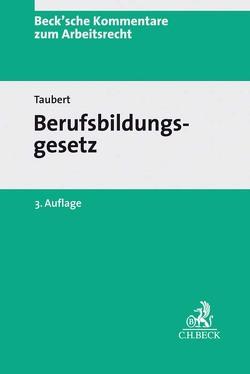 Berufsbildungsgesetz von Leinemann,  Wolfgang, Taubert,  Thomas