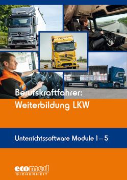 Berufskraftfahrer: Weiterbildung LKW (Unterrichtssoftware Module 1-5)