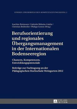 Berufsorientierung und regionales Übergangsmanagement in der Internationalen Bodenseeregion von Böheim-Galehr,  Gabriele, Brühwiler,  Christian, Gonon,  Philipp, Rottmann,  Joachim