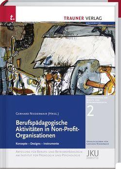 Berufspädagogische Aktivitäten in Non-Profit-Organisationen von Niedermair,  Gerhard