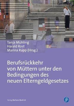 Berufsrückkehr von Müttern von Mühling,  Tanja, Rost,  Harald, Rupp,  Marina