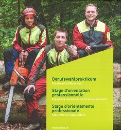 Berufswahlpraktikum / Schnupperlehre Forstwartin / Forstwart