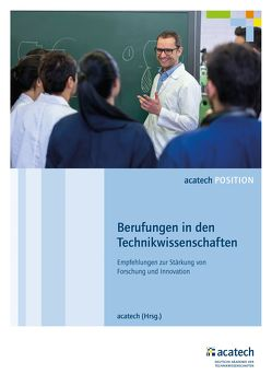 Berufungen in den Technikwissenschaften von acatech,  .