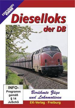 Berühmte Züge und Lokomotiven: Dieselloks der DB