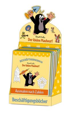 Beschäftigungsbücher Maulwurf von Miler,  Zdeněk