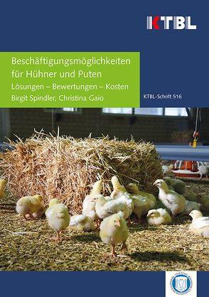 Beschäftigungsmöglichkeiten für Hühner und Puten von Gaio,  Christina, Spindler,  Birgit
