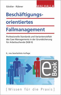 Beschäftigungsorientiertes Fallmanagement von Göckler,  Rainer, Rübner,  Matthias