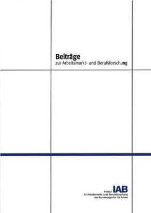 Beschäftigungseffekte betrieblicher Arbeitszeitgestaltung von Bellmann,  Lutz, Gerlach,  Knut, Hübler,  Olaf, Meyer,  Wolfgang