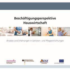 Beschäftigungsperspektive Hauswirtschaft von Böving,  Hannah, Franke,  Stefanie, Jürgenhake,  Uwe, Sasse,  Carla, u.a.