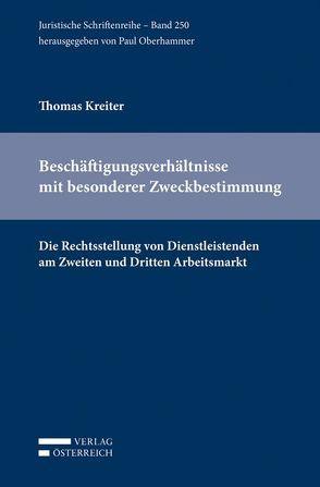 Beschäftigungsverhältnisse mit besonderer Zweckbestimmung von Kreiter,  Thomas, Oberhammer,  Paul