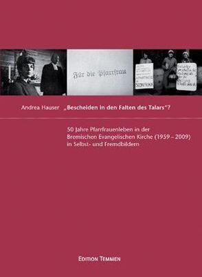 """""""Bescheiden in den Falten des Talars""""? von Hauser,  Andrea"""