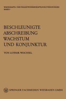 Beschleunigte Abschreibung, Wachstum und Konjunktur von Weichsel,  Lothar